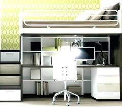 bureau 2 places lit combine 2 places lit mezzanine design combine lit mezzanine