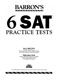 preview barron u0027s 6 sat practice tests by tusachduhoc issuu