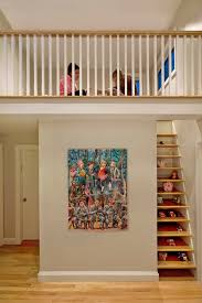 staircase wall decor ideas staircase wall decoration ideas hall transitional with white trim