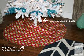 how to make a no sew ombre ruffled tree skirt diy show diy