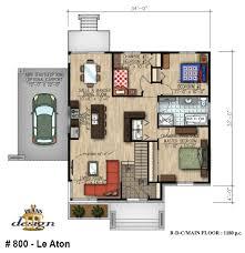 chambre d hote handicapé 800 le aton bungalow handicapé plain pied plans design brico