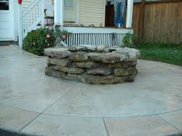 Concrete Patio Vs Pavers Fascinating Cost Of Sted Concrete Decorating Ideas Pics For Vs