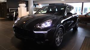 porsche suv blacked out porsche cayenne 2016 in depth review interior exterior youtube