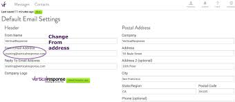 Business Email Address Gmail by Verticalresponse Sending From A Personal Email Address Could