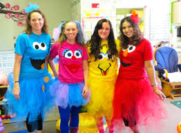 sesame street costumes adults cookie monster elmo big bird abby