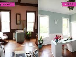 maison rénovée avant après avant après un bureau à la maison qui respire la lumière