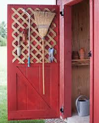 how to hang tools in shed organizing tips for garden tools wood lattice makes an excellent