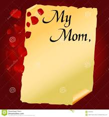 mother u0027s day letter vector stock vector image of symbol 9260028