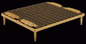 rete per materasso memory reti e supporti a doghe per materassi