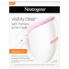 neutrogena face mask light neutrogena visibly clear light therapy acne mask free shipping