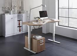 bureau ectrique bureau assis debout électrique courbe adapt achat bureaux