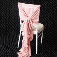 Pink Chair Sashes Aliexpress Com Buy 200 Pcs Blush Pink Chiffon Chair Sash Dusty