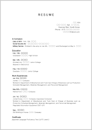high school graduate resume extraordinary resume exles for high school students with no