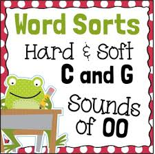 word sorts hard and soft c hard and soft g oo by fishyrobb tpt