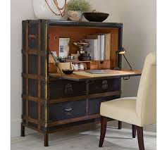 Desk Pottery Barn Ludlow Trunk Secretary Desk Pottery Ba44 5