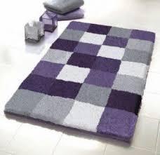 Purple And Gray Bathroom - shaggy bath rugs foter