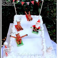 Christmas Cake Decorations Santa by A Round Up Of Our Christmas U0026 Winter Tutorials My Cake