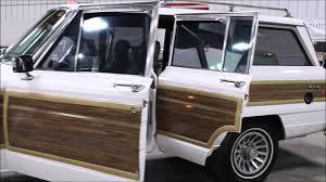 1989 jeep wagoneer 1989 jeep grand wagoneer youtube