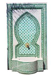 Moroccan Tile by Moroccan Mosaic Tile Water Fountain From Badia Design Inc