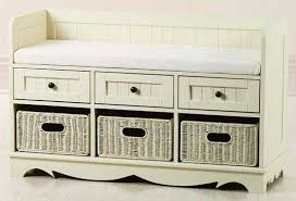 Bathroom Bench Seat Storage Size Of Storage Benches For Bedroom Target Decobizz In