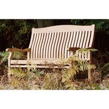 1 8m teak garden bench