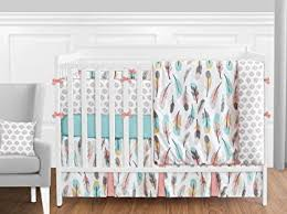 Jojo Crib Bedding Sweet Jojo Designs 9 Feather Baby Crib