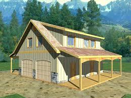 Detached Covered Patio Detached Garage Plans With Porch U2013 Moonfest Us