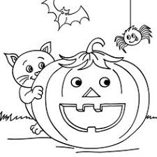 halloween silly printabel coloring pages halloween