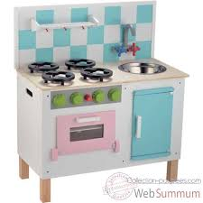 cuisine en bois jouet janod dinette enfant janod vilac hape plan toys