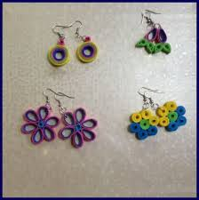 quilling earrings tutorial pdf free download quilling earrings simple and pretty