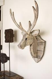vidaxl co uker head wall mountedcoration natural looking black
