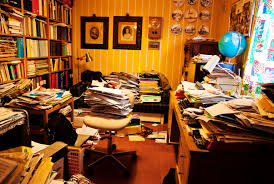 messy work spaces spur creativity while tidy environments linked