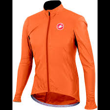 orange cycling jacket wiggle castelli velo jacket cycling windproof jackets