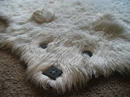 rugs make you feel like you are petting an artic polar bear with