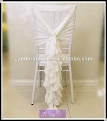 blush chair sashes antique blush chiffon ruffle chair weddings