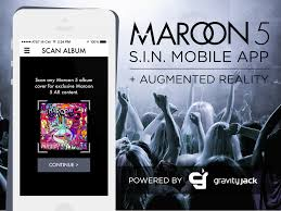 maroon 5 fan club maroon 5 announces s i n mobile app augmented reality