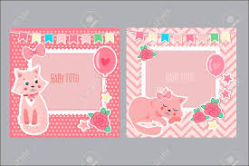 baby girl photo album photo frames for kids decorative template for baby girl
