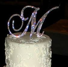 monogram cake toppers for weddings wedding monogram cake toppers wedding corners