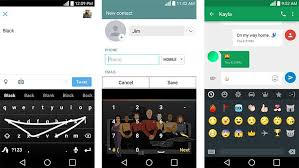 android swype keyboard swype update adds emoji keyboard number prediction and trek