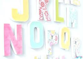 Nursery Wall Decor Letters Nursery Wall Decor Letters Baby Room Wall Decor Letters