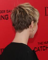 pictures of back pixie hairstyles fashion fun back of jennifer lawrence hair hair pinterest