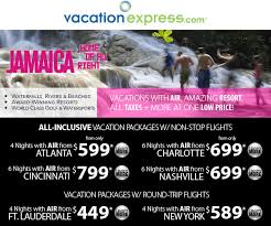 jamaica all inclusive vacation package client travel