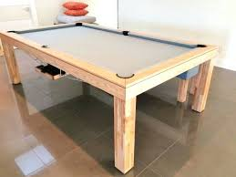 Pool Table Dining Room Table Tribeca Linear Dining Pooltable Tribeca Linear White Billiard