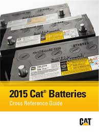 catalogo de baterias cat pegp7801 07 2015 updated battery