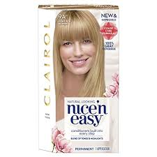 clairol nice n easy natural light auburn clairol nice n easy 9a 102 light ash blonde permanent hair color
