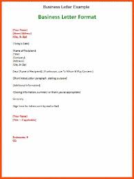 Block Form Business Letter by Business Letter Example Thebridgesummit Co