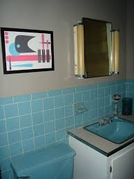 blue bathroom ideas 40 retro blue bathroom tile ideas and pictures