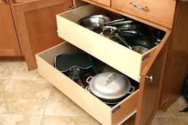 kitchen cabinet slide out cabinet shelves sliding bamboo expandable kitchen cabinet pull out