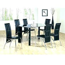 black glass kitchen table cheap dining table and 6 chairs cheap black dining table and chairs