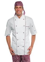Veste Cuisine Pas Cher by Veste De Cuisine Manches Courtes Sur Mylookpro Com